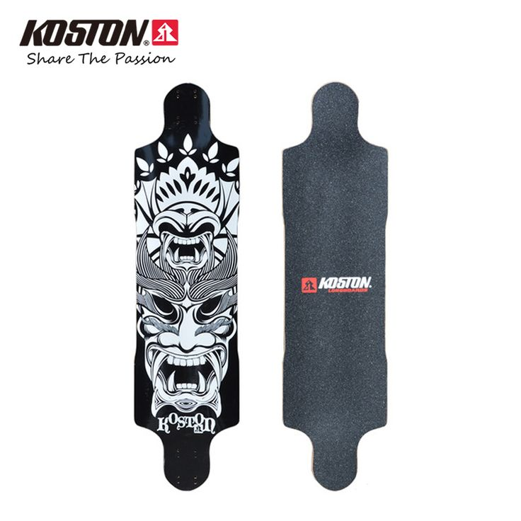 Koston Professional Longboard Deck Tailsman For Downhill Racing 39 Inch 9ply Canadian Maple Laminated Long Skateboard Deck LD201