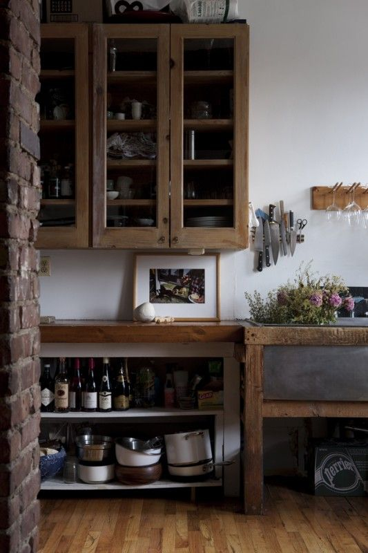 Wooden-rustic kitchen