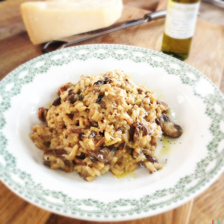 Mushrooms Risotto   The Chiappas