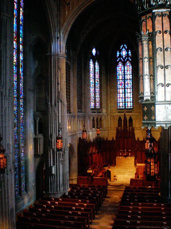 HEINZ MEMORIAL CHAPEL, Pittsburgh, PA