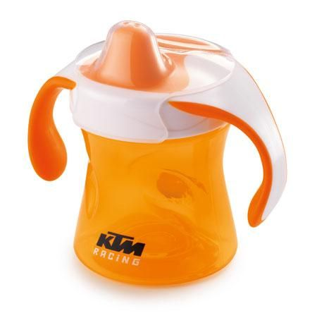 KTM Sippy Cup! Teach them all you can while they're young. :-)