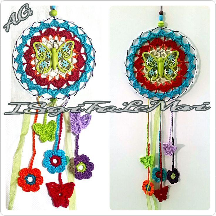 Butterfly DreamCatcher - crochet -