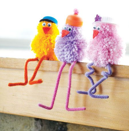 Learn how to make these cute chirpy chicks