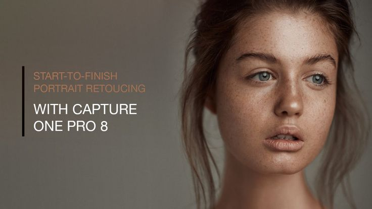 Start to Finish Portrait Retouching in Capture One Pro 8