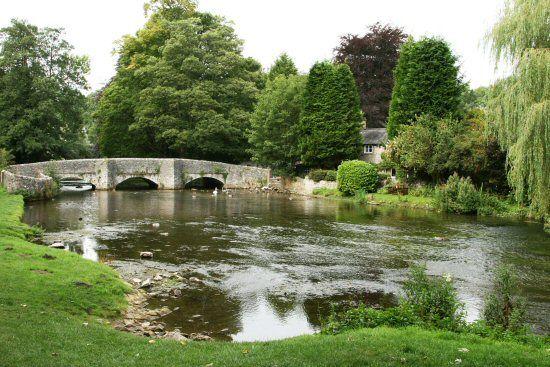 Sheepwash Bridge, over River Wye, Ashford in the Water,Peak District