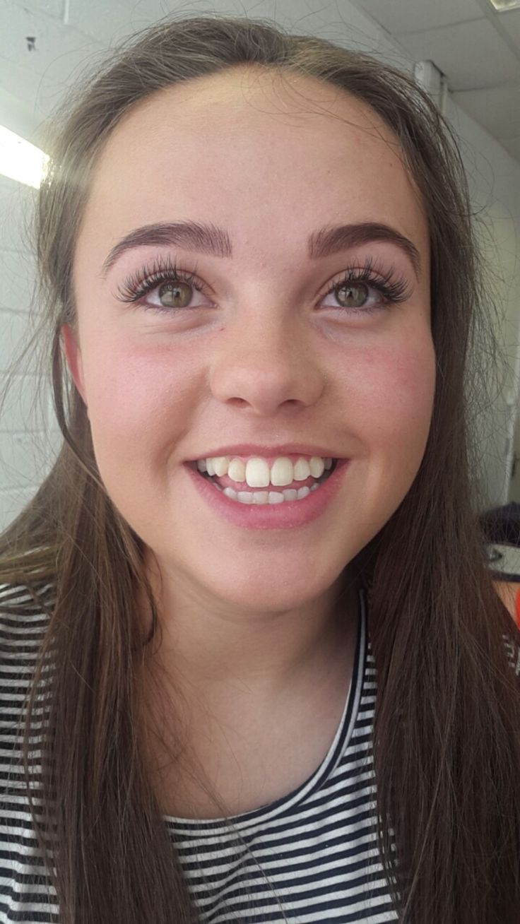Happy 😊 young smiles . So naturally beautiful . Modelling for Nicole to do her first set of semi permanent eyelashes.