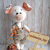 Мягкая игрушка поросенок, купить, заказать, цена, в интернет магазине