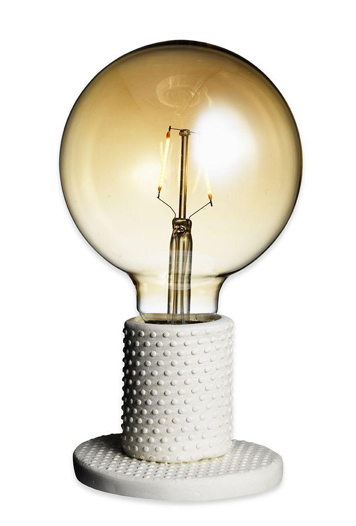 Clay lampstand www.pandurohobby.com Clay by Panduro #decoration #DIY