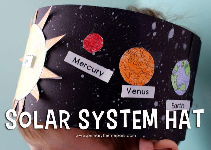 Solar System Hat Activity for Kindergarten