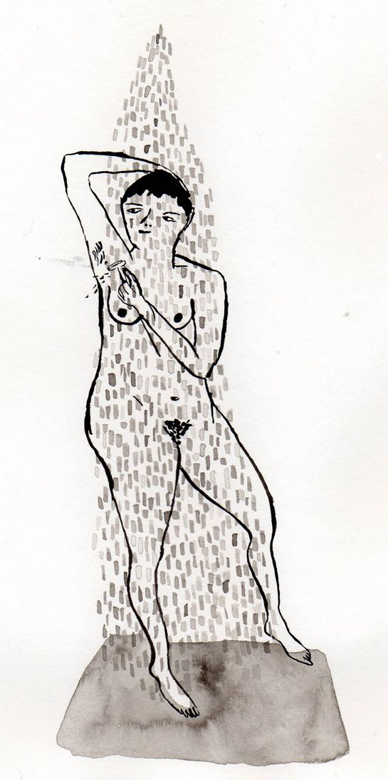 PiaBramley - shower