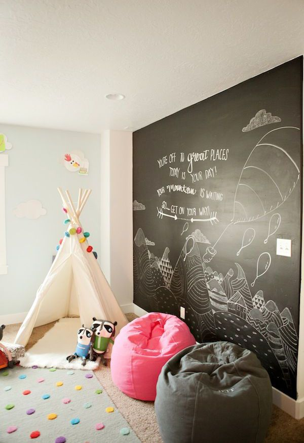play tent kids chalkboards 20 Awesome Kids chalkboard Ideas