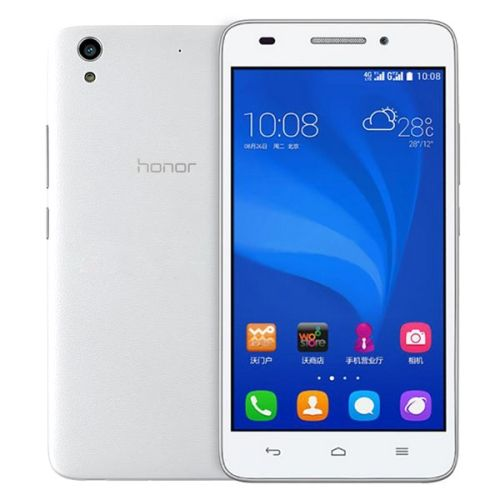 [$122.00] Huawei Honor Play 4 / C620S-UL00  5.0 inch TFT IPS Capacitive Screen Android OS 4.4 Smart Phone, MSM8916 Quad Core 1.2GHz, ROM: 8GB, RAM: 1GB, Support DLNA, GPS, GSM & WCMA & FDD-LTE(White)