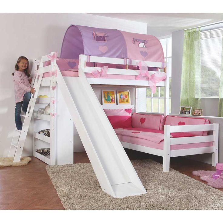 Kinderhochbett mit rutsche  Die besten 25+ Kinderbett mit rutsche Ideen auf Pinterest ...