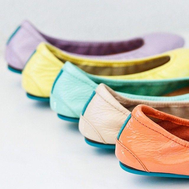 Pretty in pastel! - Tieks Ballet Flats