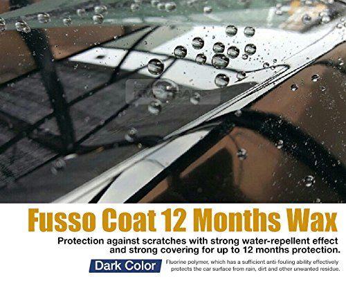 Amazon.com: Soft99 Fusso 12 months Auto Care Waterproof Wash Coat Detailing Wax Dark Color: Automotive