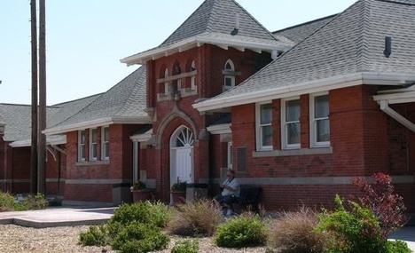Union Pacific Rail Depot in Rawlins, WY