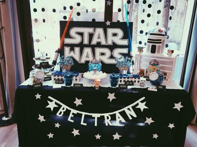 Una candy bar inspirada en STAR WARS