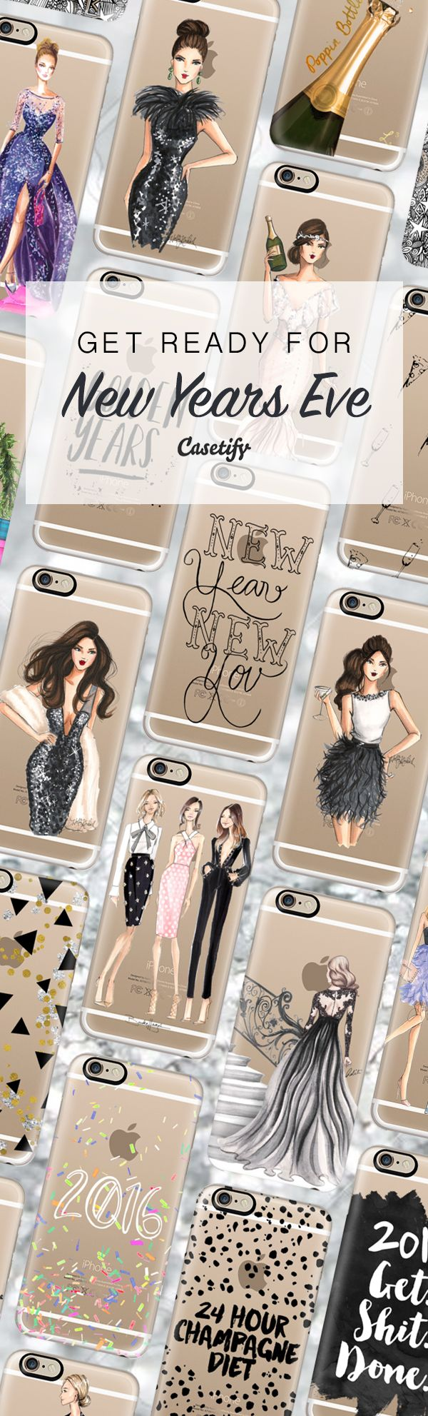 Glam up your #nye party look. Shop these 2016 ready designs here:  https://www.casetify.com/artworks/MDpmjEy7UM