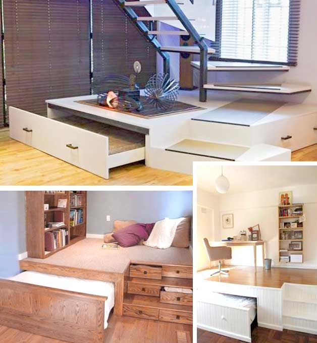 49 Best Images About Wall Beds / Hidden Beds On Pinterest