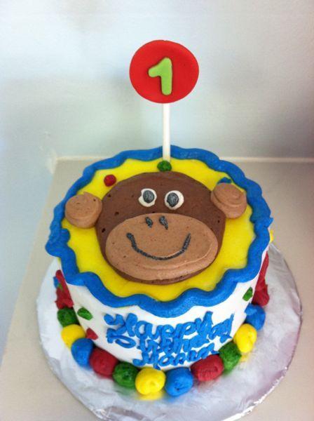 22 Best AJ 1st Birthday Images On Pinterest Smash Cakes