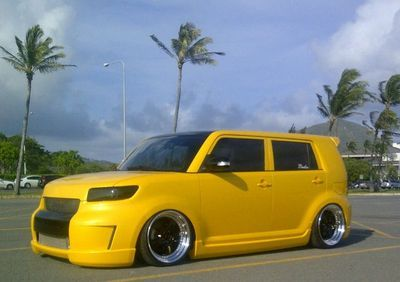 2008 SCION XB ~ CUSTOM ~ Lamborghini Yellow ~ 2011 WEKFEST WINNER