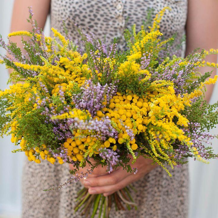 Wild flowers mid summer bouquet /