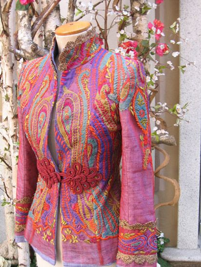 Indalia Fashion - Asian and Italian fabrics combined with Italian tailoring... link to some nice creative designs