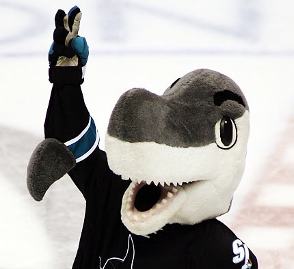 Everybody Loves Sharkie We Love Our San Jose Sharks San Jose