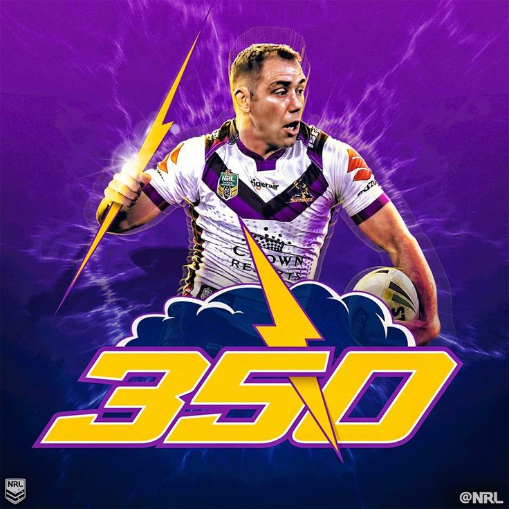 SUPER CAM  Cameron Smith has become just the third player in history to play 350 #NRL games!   Only Darren Lockyer (355) & Terry Lamb (350) have achieved the milestone.