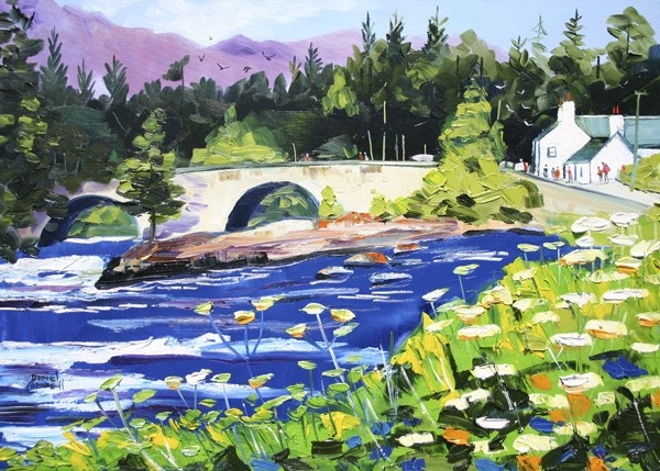 Art Prints Gallery - The Falls of Dochart, Killin (Limited Edition), £70.00 (http://www.artprintsgallery.co.uk/Daniel-Campbell/The-Falls-of-Dochart-Killin-Limited-Edition.html)