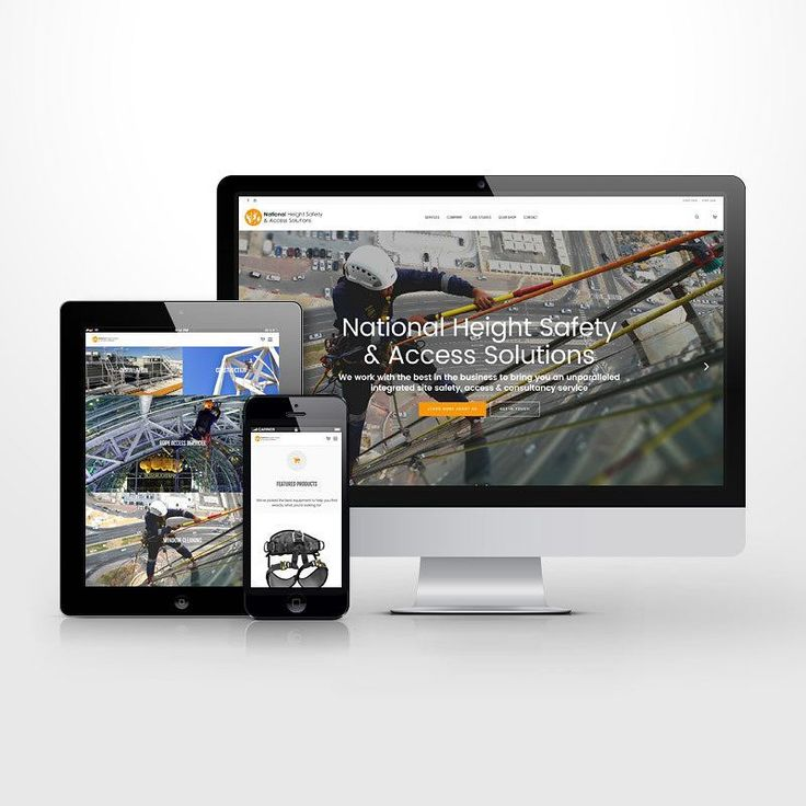 #Responsive #WordPress #website design for National Height Safety & Access Solutions. #ui #ux #uidesign #uxdesign #userexperience #userinterface #interfacedesign #mobiledesign