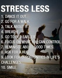 Stress Less tips More tips on Widowed Life @widsnextdoor.com