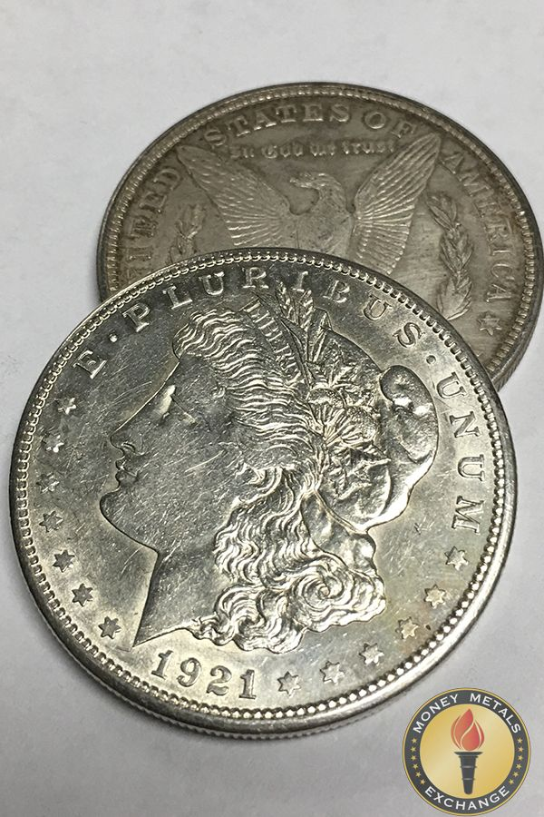 Buy Morgan Silver Dollars In Condition At Melt Value Money Metals Morgan Silver Dollar Silver Dollar Coin Collecting