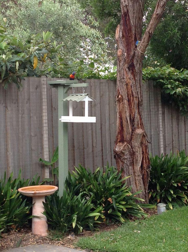 Our new bird feeder
