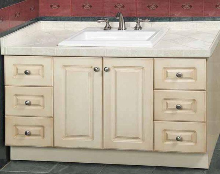 Unfinished Bathroom Vanities: Do It Yourself