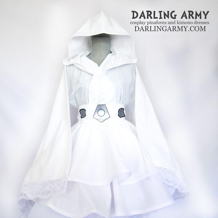 Princess Leia Organa Star Wars Cosplay Kimono Dress Wa Lolita Skirt Costume | Darling Army