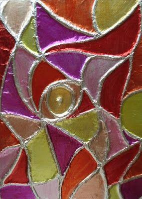 http://afaithfulattempt.blogspot.com/2015/07/foil-embossing-tin-foil-and-sharpies.html
