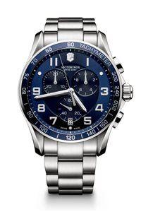 Pánske Hodinky Chrono Classic XLS 241652  Swiss-made quartzový strojček ETA G10.211, Presnosť merania chronografu až 1/10 sekundy, tachymeter priemer: ø 45 mm