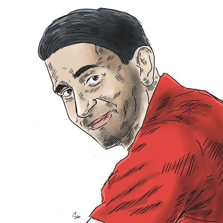 Michal Gogol caricature (photo: Lukasz Stanek) #volleyball #caricature #art #Asseco #Resovia