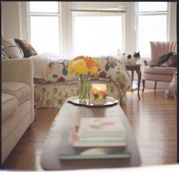 Adorable Studio Apartment Apartment Therapy Tiny