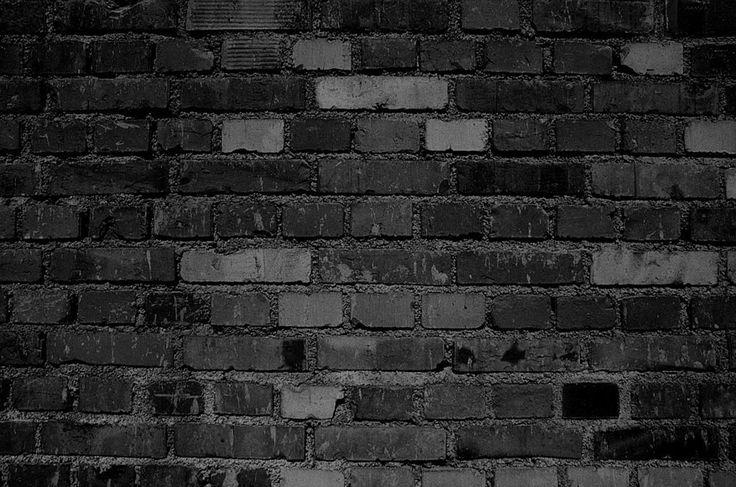Black Brick Wall Decor 52763