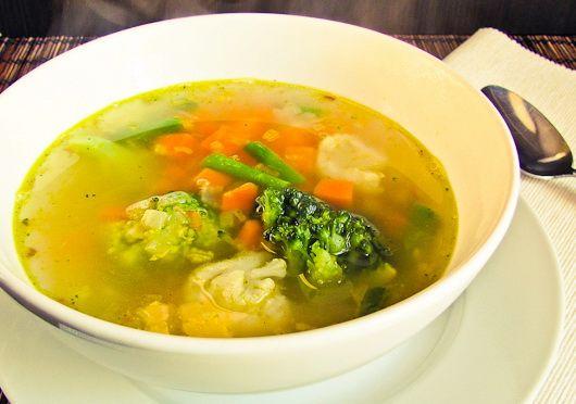 Суп из цветной капусты - Рецепты супа из цветной капусты - Как