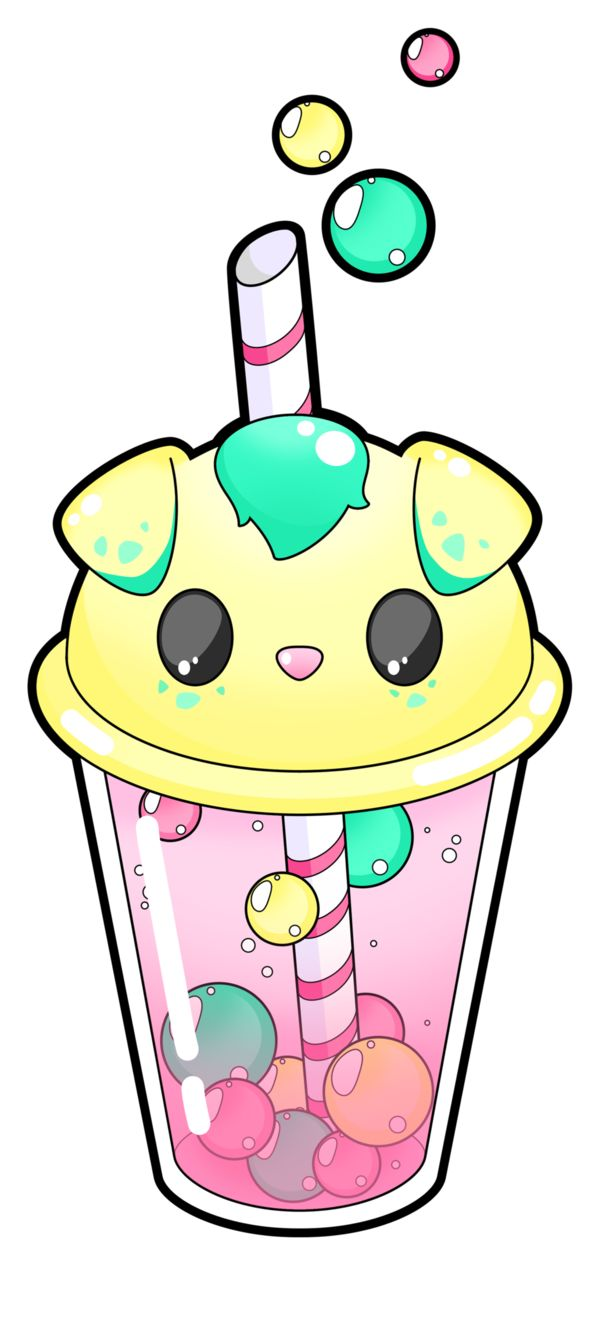 This will certainly became a tshirt design, I just have to change some details and I'll add a background :3 I'm currently making a bunny and a bear bubble tea, if you're ever interested in an other...