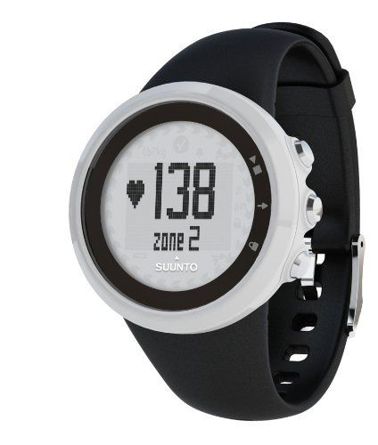 Suunto M1 Heart Rate Monitor and Fitness Training Watch by Suunto. $99.00. Amazon.com         A large, crisp, easy-to-read face displays detailed training information.   For the minimalist trainer, the Suunto m1 offers real-time heart rate and calories burned in a clean, no-frills package. Compatible with most gym equipment, the m1 automatically switches between three heart rate zones to help you reach personal goals. The unit monitors you while you exercise to ensure you...