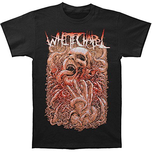 Whitechapel mens invaders t shirt black