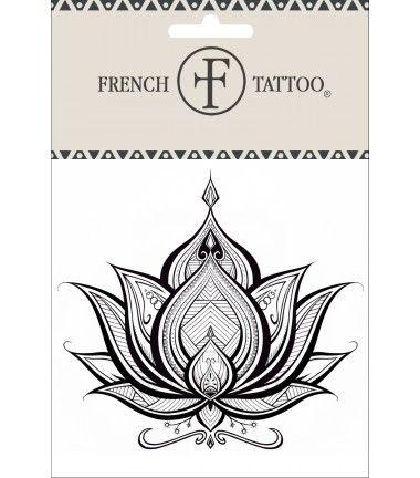 Lotus - Tatouage éphémère