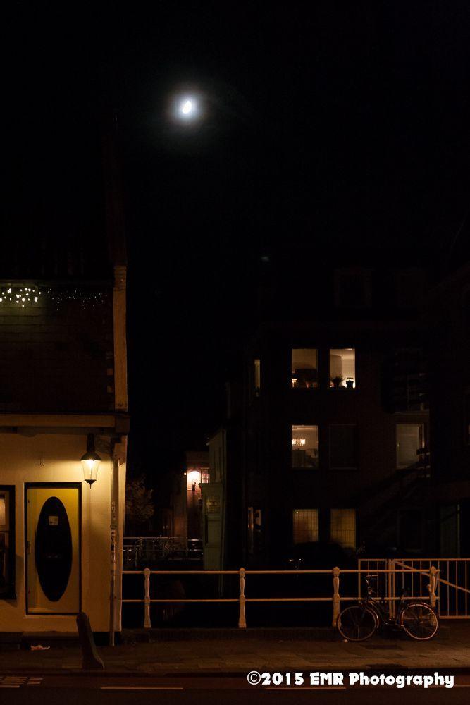 Alkmaar in de nacht  by EMR Photography