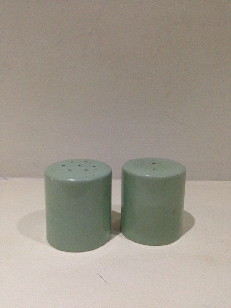 Beryl woods a ware salt and pepper. 1940s iconic