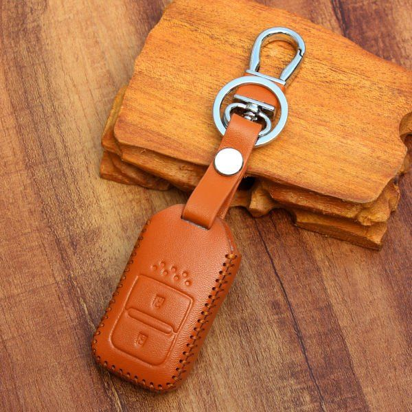 Leather Key cover for Honda