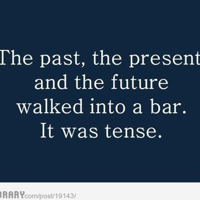 One of our all-time favourite teacher jokes. Always gets a few groans from the class.